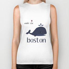 Boston Baby Bodysuit Boston Cute in Boston Baby Bodysuit or Tee boston shark Biker Tank
