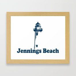 Jennings Beach Ct. Framed Art Print