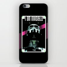 I AM INVISIBLE iPhone & iPod Skin