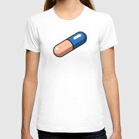 akira T-shirts featuring Akira Pill by azra
