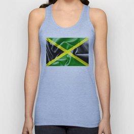 Jamaica Flag Unisex Tank Top