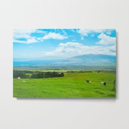 Kula Upcountry Maui Hawaii Metal Print