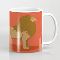lannister Mugs featuring Hear Me Roar by Alexandra Sutherland