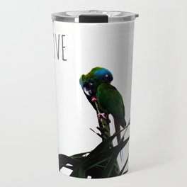 Something about Love | Tropical nature photograph Travel Mug