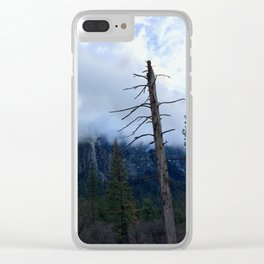 Yosemite Valley - Positives & Negatives Clear iPhone Case