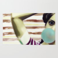 bubble Area & Throw Rugs featuring Bubble by Mi Nu Ra