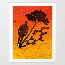 """Identity"" by Jackie Ferrentino for Nautilus Art Print"