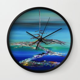 A New Path Wall Clock