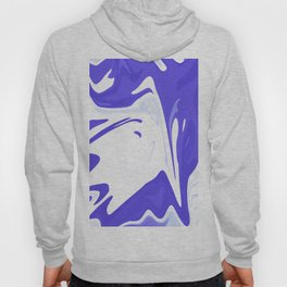Abstract purple marble pattern Hoody