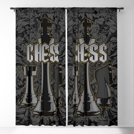 Chess Royalty Blackout Curtain
