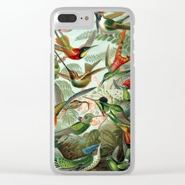 Ernst Haeckel - Artforms in Nature: Trochilidae,1904 Clear iPhone Case