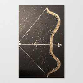 Let Your Arrow Fly Canvas Print