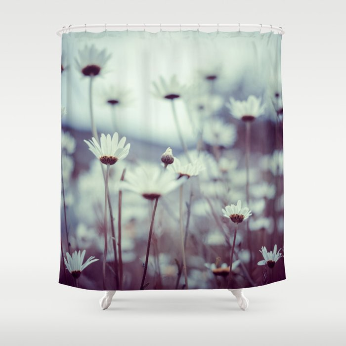 Do You Suppose Shes A Wildflower Shower Curtain By Mariecarrphotography