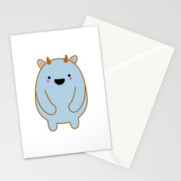 Cute Monster Stationery Cards