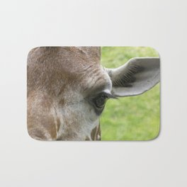 The Eye of a Giraffe Bath Mat