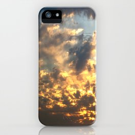Bruins Sunset iPhone Case