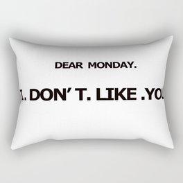 DEAR MONDAY Rectangular Pillow