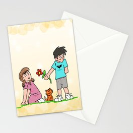 Child's Love Stationery Cards