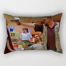Mark It Zero inspired by the Big Lebowski Rectangular Pillow