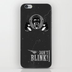 Doctor Who: Weeping Angel iPhone & iPod Skin