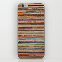 vinyl iPhone & iPod Skins featuring Vinyl by elle moss