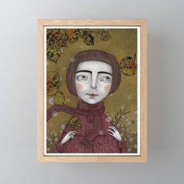 October Framed Mini Art Print