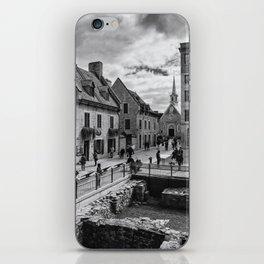 Old Quebec City iPhone Skin