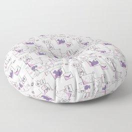 Corkboard to Love Floor Pillow