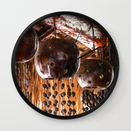 Tulum Wind Chime Wall Clock