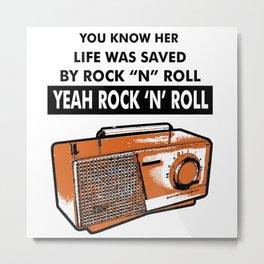 The Velvet Underground AndyWarhol Metal Print