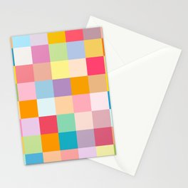 Candy colors Stationery Cards