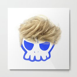 Willy the Wig Metal Print