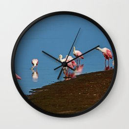 Stacking Up the Memories Wall Clock