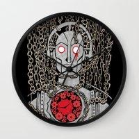 metropolis Wall Clocks featuring METROPOLIS by Alberto Corradi