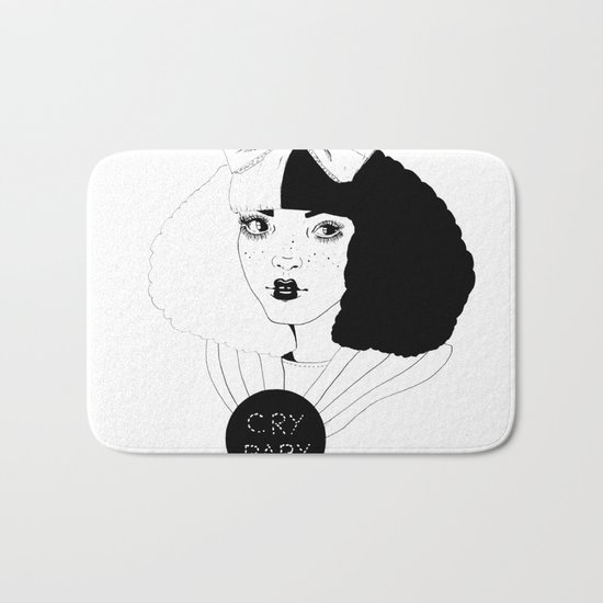 YOU CAN BE ALICE, I'LL BE THE MAD HATTER. Bath Mat