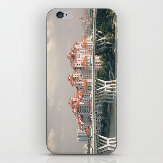 Red rooftops iPhone & iPod Skin