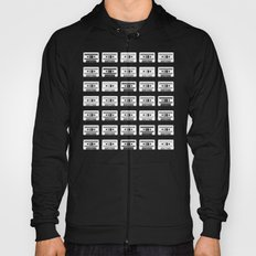 Black and White Tapes Hoody