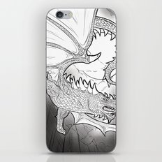Black Dragon iPhone & iPod Skin
