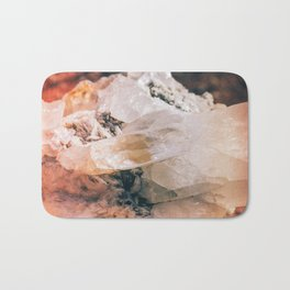 Dreamy Large Quartz Crystals Bath Mat