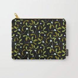 Rustic Mistletoe Carry-All Pouch