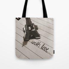 from paris... Tote Bag