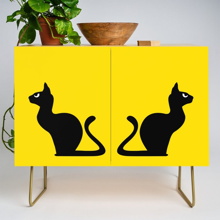 Angry Animals: Cat Credenza