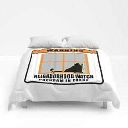 Neighborhood Watch Cat Comforters