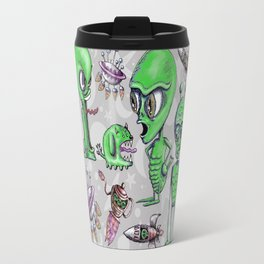 Little Green Men Travel Mug