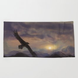 Chase the Morning Beach Towel