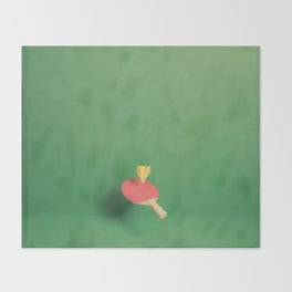 Paper Plane Pong Throw Blanket