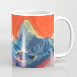 Abstract Mt. Everest Coffee Mug