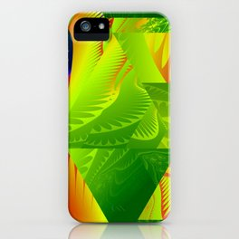 Great Green Frac 2 iPhone Case