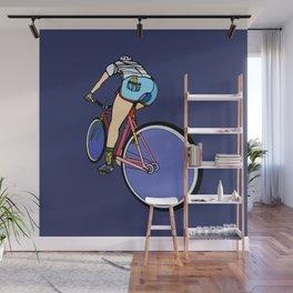 Fixie Cyclist Wall Mural