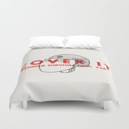 Cover it - Zombie Survival Tools Duvet Cover